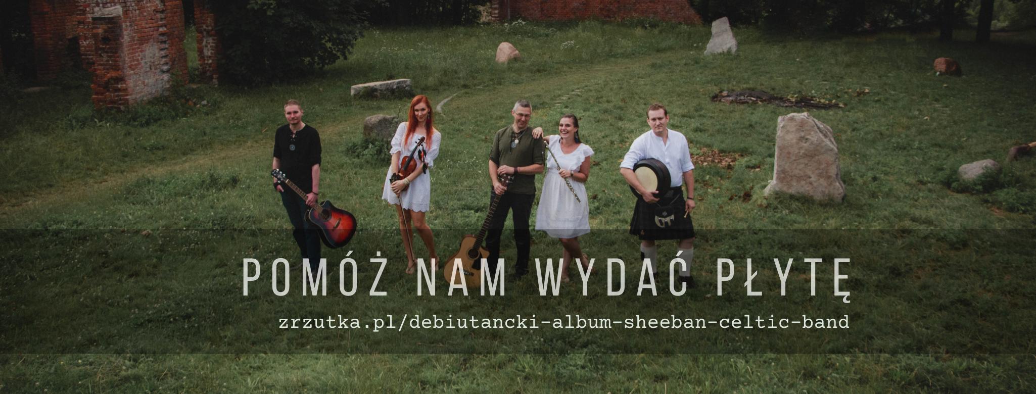 Pomóż nam wydać płytę – Sheeban na Zrzutka.pl